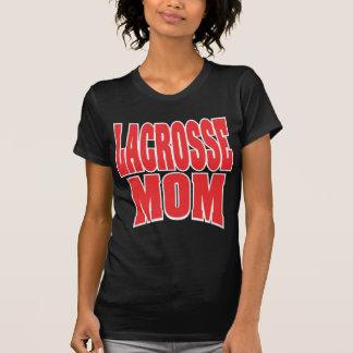 Lacrosse Mom Dark Hooded Sweatshirt T Shirts
