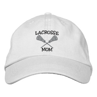 Lacrosse Mom Embroidered Cap