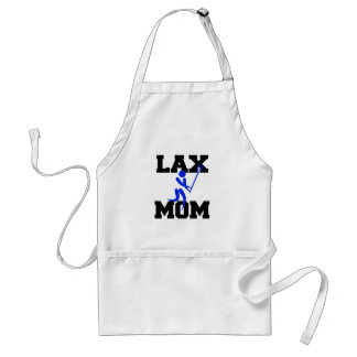 Lacrosse Mom in Blue Adult Apron