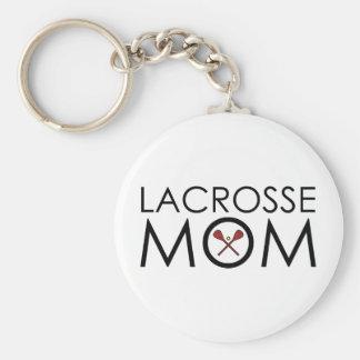 Lacrosse Mom Key Chain