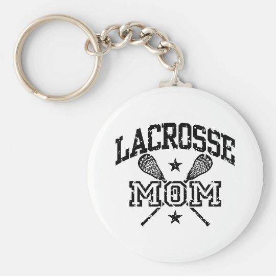 Lacrosse Mom Keychain
