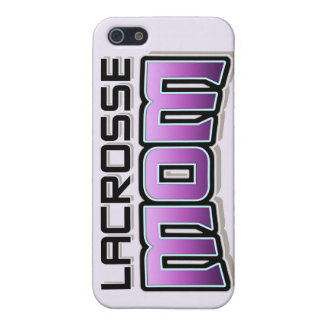 Lacrosse MOM phone case iPhone 5 Cases