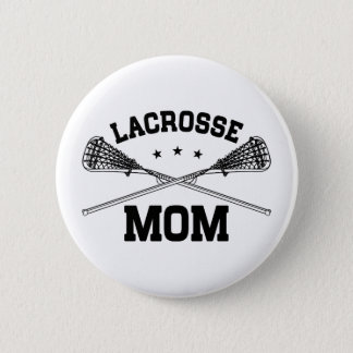Lacrosse Mom Pinback Button