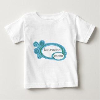 Lacrosse Mom Swirl Baby T-Shirt