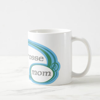 Lacrosse Mom Swirl Coffee Mug