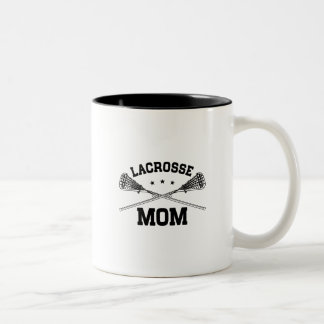 Lacrosse Mom Two-Tone Coffee Mug