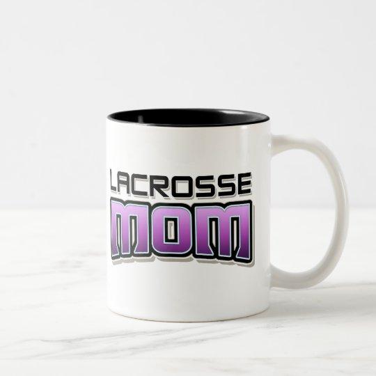 Lacrosse MOM Two-Tone Coffee Mug
