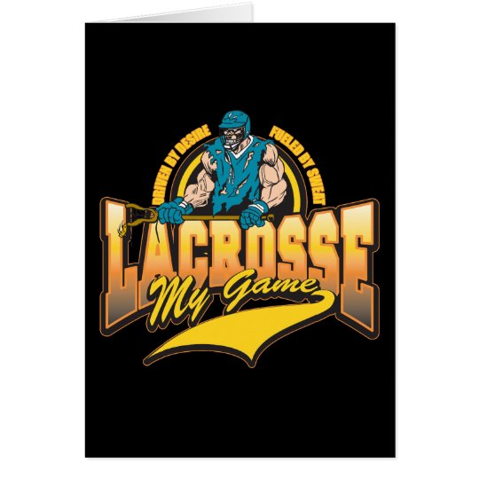Lacrosse My Game Card