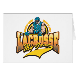 Lacrosse My Game Card