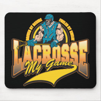 Lacrosse My Game Mouse Pad
