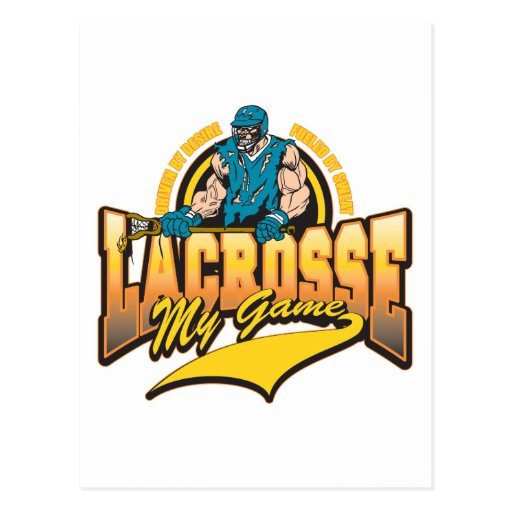 Lacrosse My Game Post Card