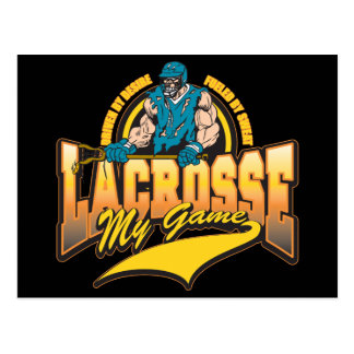 Lacrosse My Game Post Cards
