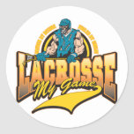 Lacrosse My Game Sticker