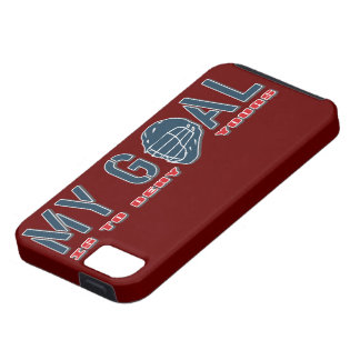 Lacrosse My Goal Goalie LAX iphone 5 vibe Case iPhone 5 Cases