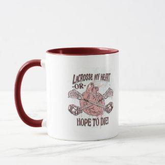 Lacrosse My Heart Lax Gear Mug