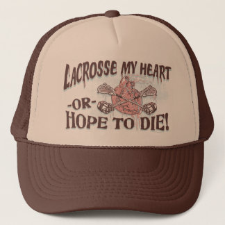 Lacrosse My Heart Lax Gear Trucker Hat