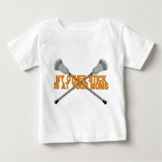 Lacrosse My Other Stick Baby T-Shirt