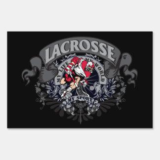 Lacrosse My Sport Yard Sign
