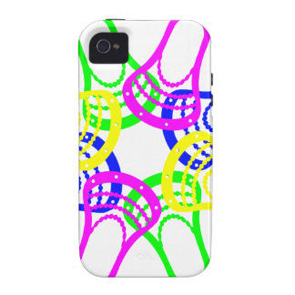 Lacrosse Neon Heads Case-Mate iPhone 4 Cover