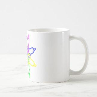 Lacrosse Neon Heads Coffee Mug