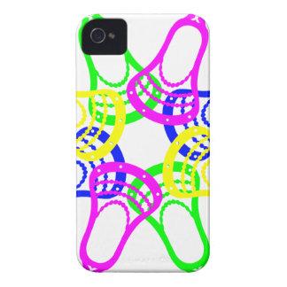 Lacrosse Neon Heads iPhone 4 Cases