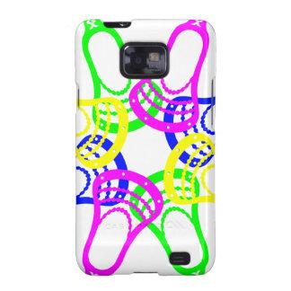 Lacrosse Neon Heads Samsung Galaxy SII Case