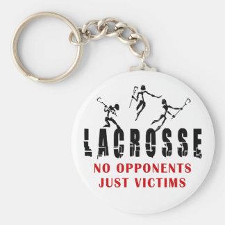LaCrosse ningunos regalos de las camisetas de las  Llavero Redondo Tipo Pin