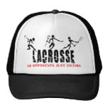 Lacrosse No opponents Just Victims T-Shirts Gifts Hat