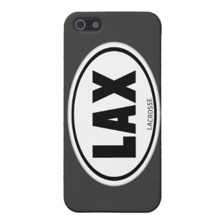 Lacrosse Oval design phone case