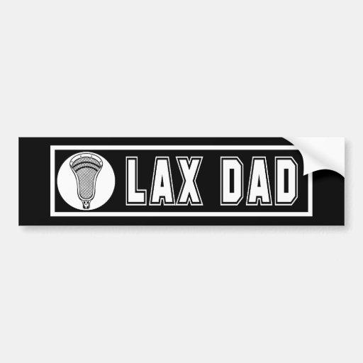 Lacrosse Parents DadBumper Bumper Sticker