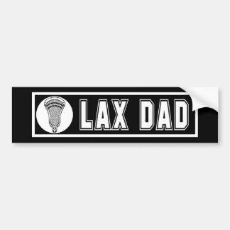Lacrosse Parents DadBumper Bumper Sticker Car Bumper Sticker