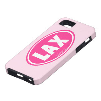 Lacrosse Pink Oval iphone 5 case