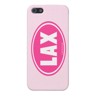 Lacrosse Pink Oval LAX iPhone case