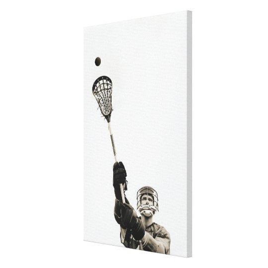Lacrosse Player 2 Canvas Print