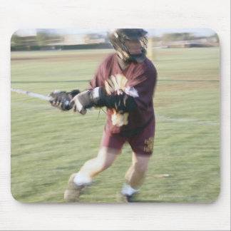Lacrosse Player 2 Mouse Pad