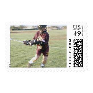Lacrosse Player 2 Postage