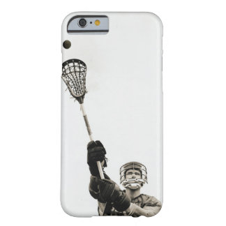 Lacrosse Player 3 Barely There iPhone 6 Case