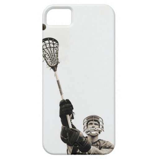 Lacrosse Player 3 iPhone 5 Cases