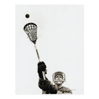 Lacrosse Player 3 Postcard