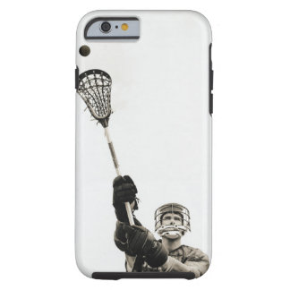 Lacrosse Player 3 Tough iPhone 6 Case