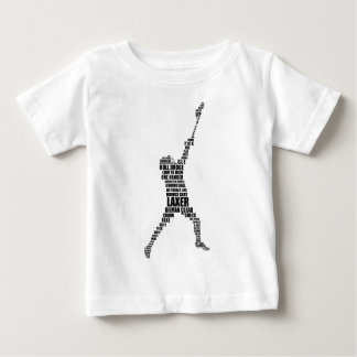 Lacrosse Player Baby T-Shirt