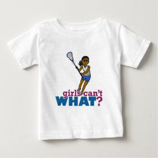 Lacrosse Player Blue Uniform Baby T-Shirt