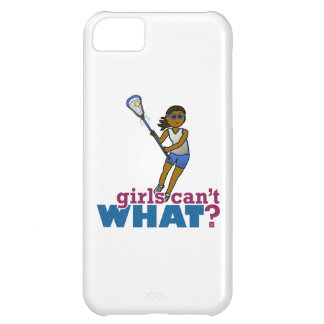 Lacrosse Player Blue Uniform Cover For iPhone 5C