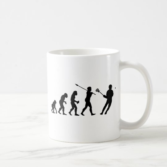 Lacrosse Player Coffee Mug