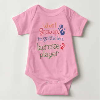 Lacrosse Player (Future) Infant Baby T-Shirt