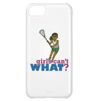 Lacrosse Player Green Uniform iPhone 5C Case