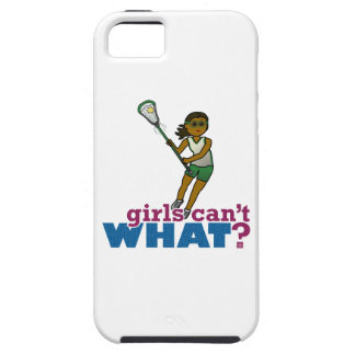 Lacrosse Player Green Uniform iPhone 5 Cases