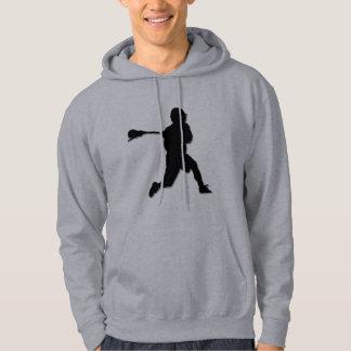 Lacrosse Player Hoodie
