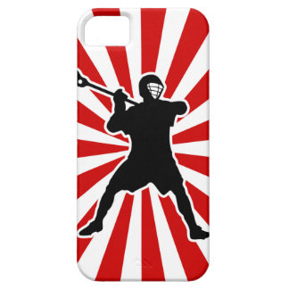 Lacrosse Player iPhone cover iPhone 5 Cover