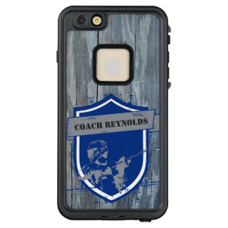 Lacrosse Player Personalized LifeProof FRĒ iPhone 6/6s Plus Case